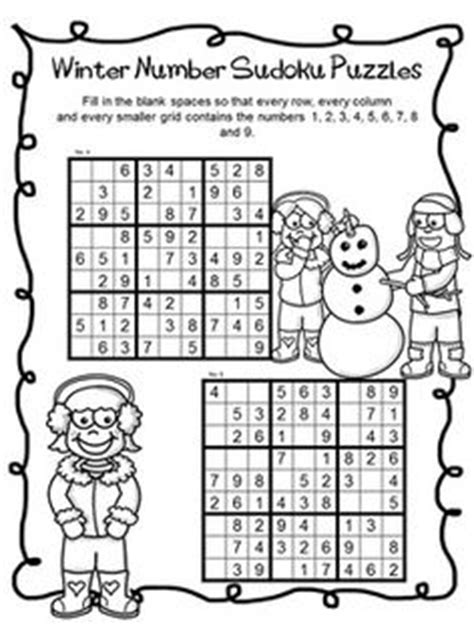 printable winter logic puzzles 1000 images about math puzzles on pinterest brain