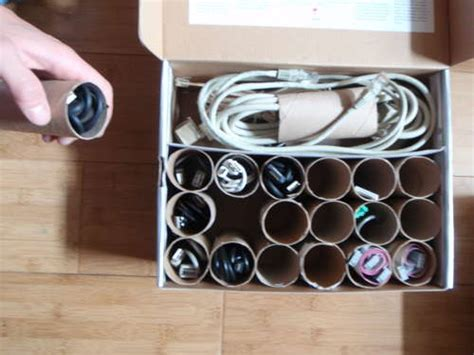 How to Create Your Own Cable Organizers   PCWorld