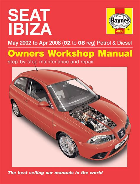 what is the best auto repair manual 2002 lexus es electronic toll collection seat ibiza 1 2 1 4 petrol 1 4 1 9 diesel 2002 08 02 08 reg haynes repair manual ebay