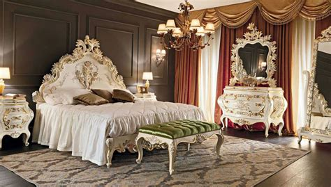 Mirrored Chandelier 25 Luxury French Provincial Bedrooms Design Ideas