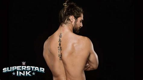 superstar ink seth rollins