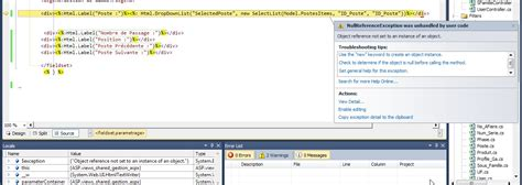layout null mvc 3 c values passing null in asp mvc stack overflow