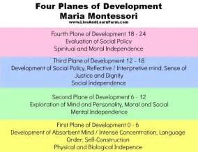 Montessori Theory Essay montessori s four planes of development many parents are familiar with montessori