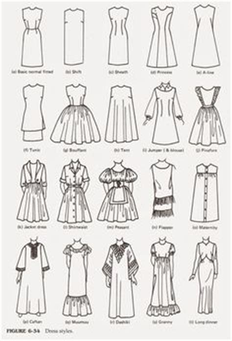 dress pattern types the ultimate clothing style guide free sewing patterns