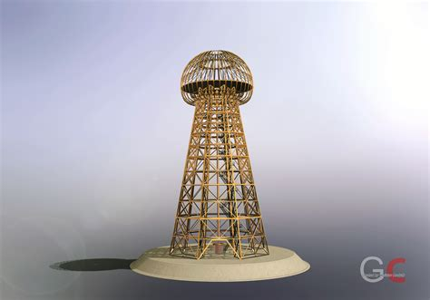 Tesla Free Energy Tower Tesla Tower Free 3d Model Stl Sldprt Sldasm Slddrw