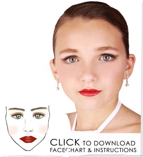 tutorial makeup dance recital make up tutorials dance studio pinterest
