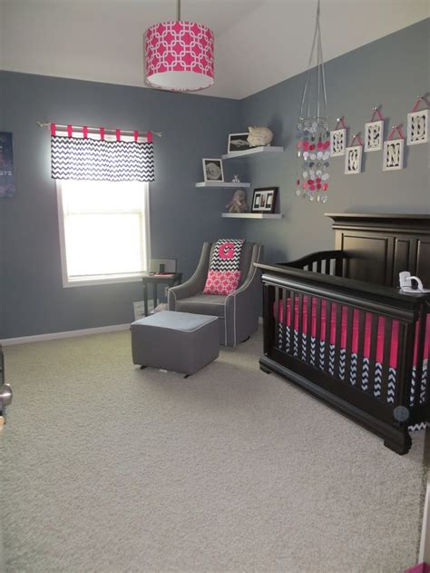 Pink And Navy Nursery Decor Nursery Idea With Navy Blue And Pink Beautifully Modern Www Butterbeansboutique Etsy