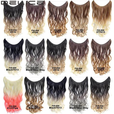 ombre 22inch hair extentions 22inch women long wavy curly ombre hair extensions color