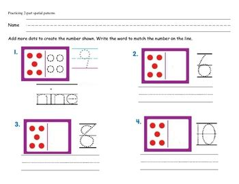 spatial pattern in maths first grade spatial patterns worksheet by mrs first grade