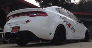 2013 Dodge Dart Rear Diffuser Road Race Motorsports Center Exhaust Sound Clip Page 2