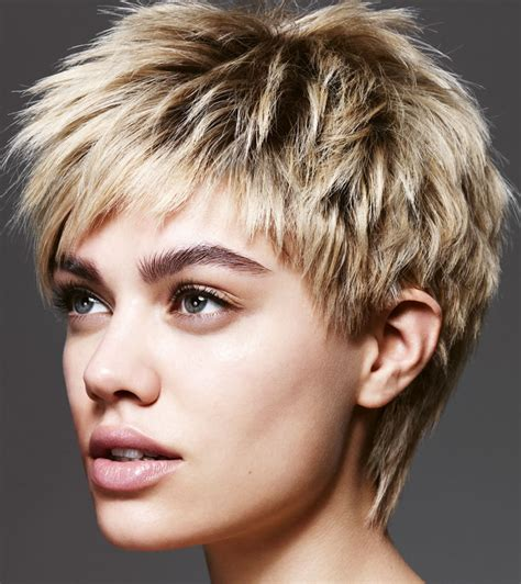 easy short hairstyles  fine hair latest pixie
