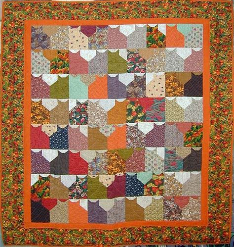 Patchwork Cat Pattern - 17 best images about cat quilts on kid quilts
