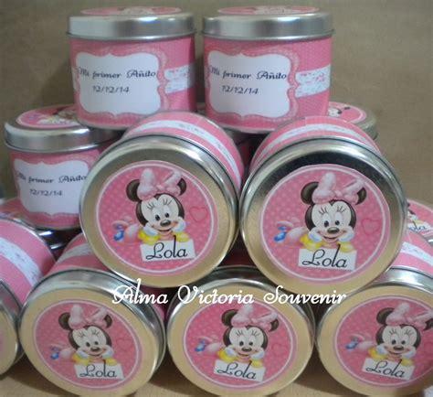 ideas con latas de dulce souvenirs minnie mouse imagui