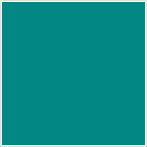 the color teal blue 028482 hex color rgb 2 132 130 aqua light blue teal
