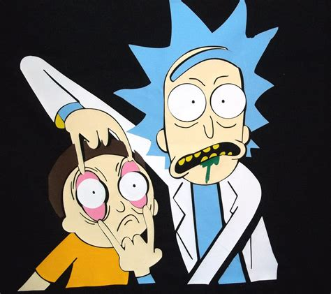 design by humans rick and morty rick and morty t shirt my design by willardstilles on