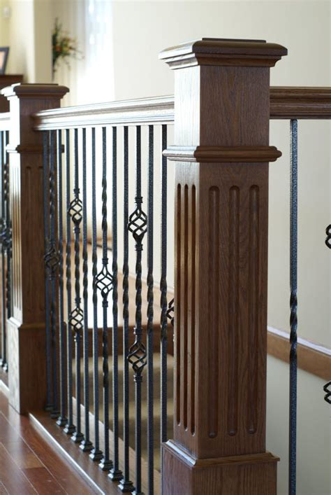 Square Railing Spindles 25 Best Wrought Iron Spindles Ideas On