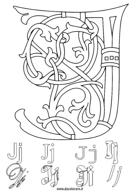 lettere miniate da colorare lettere miniate da stare cerca con