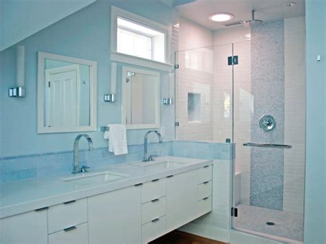 blue bathroom fixtures photo page hgtv