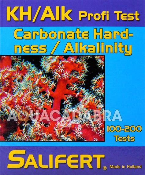 Salifert Test Kit Kh Alkalinity salifert carbonate hardness alkalinity kh profi test kit aquarium fish tank ebay