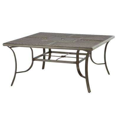 Gray   Patio Dining Tables   Patio Tables   The Home Depot
