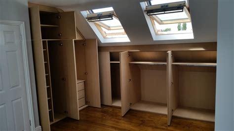 Dachboden Kleiderschrank by Joinery R M Wood Master