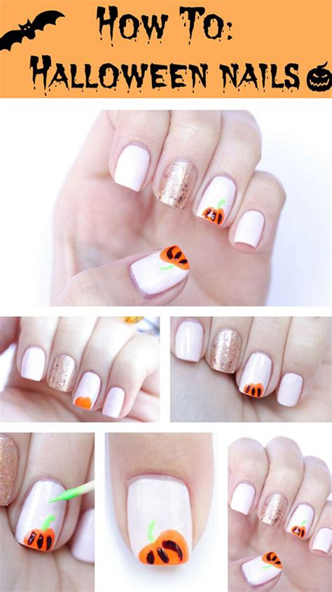 tutorial nail art halloween 15 simple step by step halloween nail art tutorials 2015