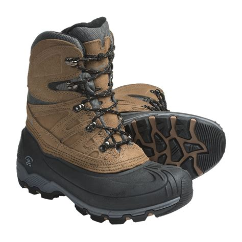 winter boots kamik nordic pass winter boots waterproof insulated