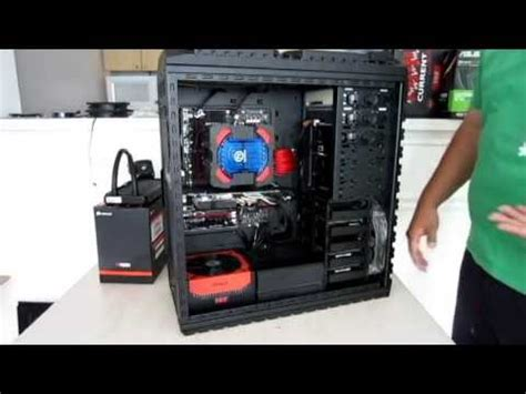Murah Pc Nzxt Switch 810 Se Black Matte Gunmetal nzxt switch 810 se with corsair h100i and sentry mesh doovi