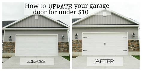 How To Make Garage Doors by Garr Den Of Garage Door Makeover