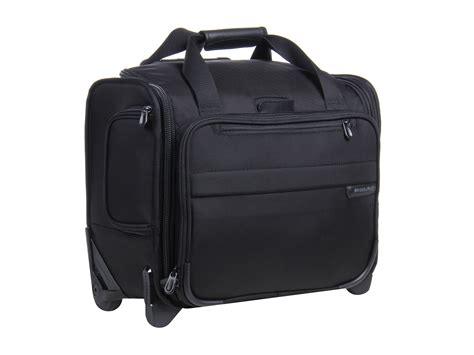 Briggs And Cabin Bag by Briggs Baseline Rolling Cabin Bag At Zappos