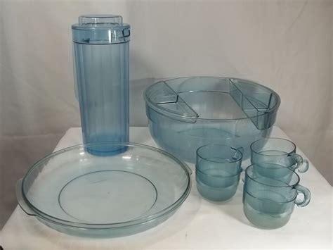Tupperware Cup Watercolor tupperware preludio watercolor blue acrylic punch chip