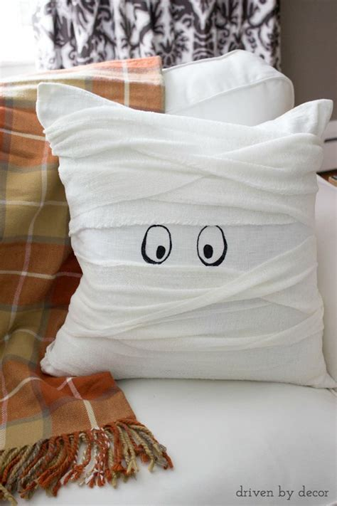 The Mummy Pillow the cutest mummy pillow that s simple to