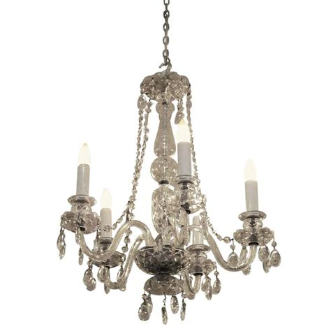 Waterford Chandeliers 1940s Restored Waterford Five Arm Chandelier With Crystals For Sale At 1stdibs
