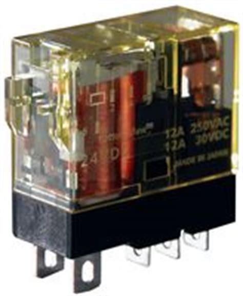 Relay Idec Tipe Rj2s Cl D24 6a rj2s c d24 idec power relay dpdt 24 vdc