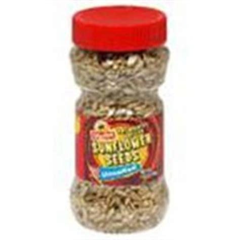 unshelled sunflower seeds
