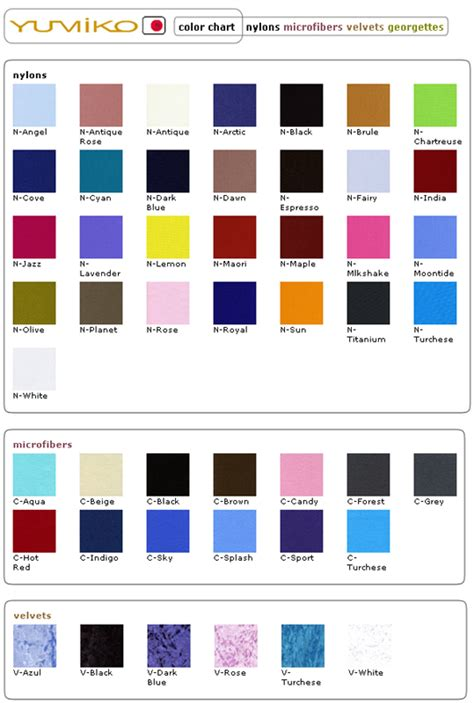 yumiko color chart yumiko leotard colors www imgkid the image kid has it