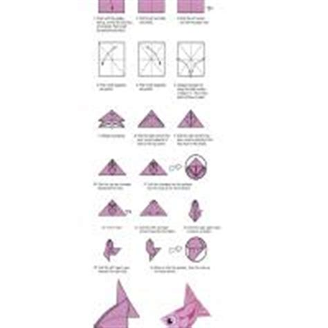 printable origami instructions fish fish origami