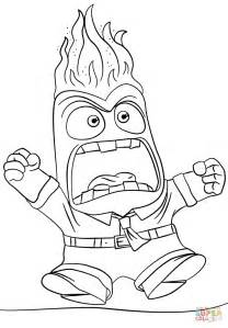 anger coloring free printable coloring pages
