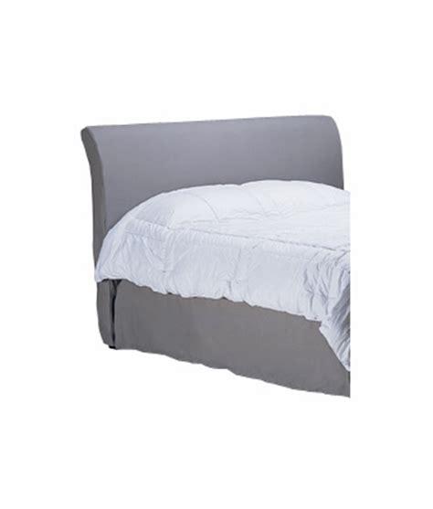 sleigh bed headboard only regency slipcovered sleigh headboard only w metal bed frame