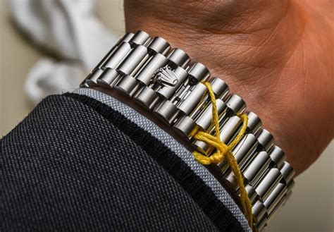 Rolex On Stainless Steel Bracelet A 3255 rolex day date 40 watches the new rolex 3255 movement