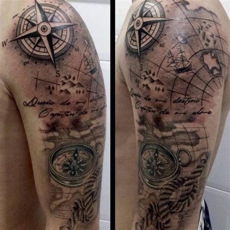 tattoo compass mit karte 99 besten tattoos bilder auf pinterest schiffe