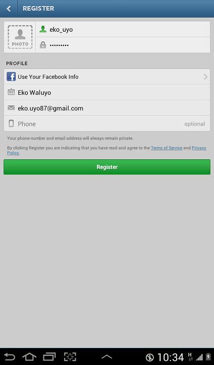 cara membuat akun instagram dari web cara daftar akun instagram di android kusnendar