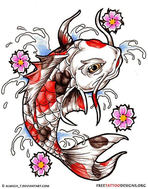 tattoo koi designs free 40 koi fish tattoos japanese and chinese designs