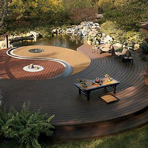 Patio Design Ideas Photo Gallery Composite Deck Ideas Composite Deck Designs Pictures Trex