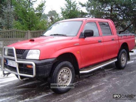 mitsubishi truck 1998 1998 mitsubishi l200 car photo and specs