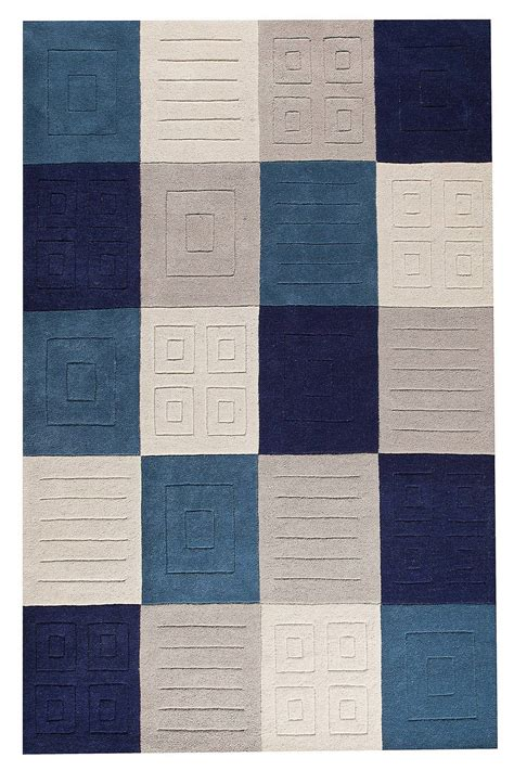 Blue And Grey Area Rugs Mat Orange Cuadro Area Rug Blue Grey