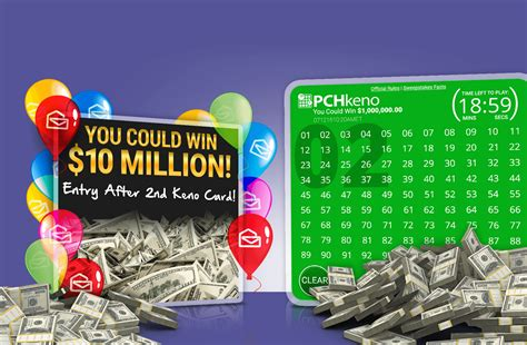 When Is The Next Pch Sweepstakes Drawing - pchkeno home