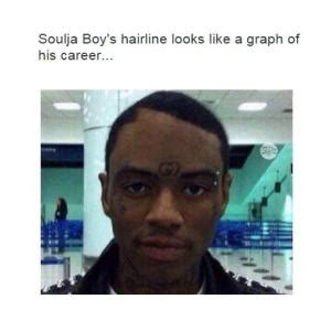 Soulja Boy Memes - hair line jokes kappit