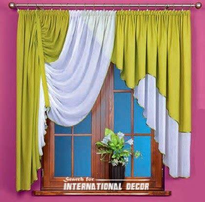 Green Kitchen Curtains Designs Summer Shade Curtains For Kitchen Green Curtains