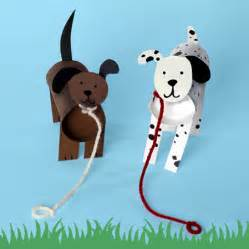 How To Make Dogs Out Of Paper - manualidades con tubos de wc perros fiestas y cumples
